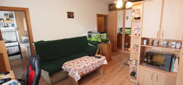 Ponúkame na predaj 1 izbový byt na Saratovskej ulici v Dúbravke
