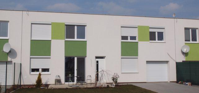 Ponúkame na predaj radový rodinný dom vuzatvorenom areáli vIvánke pri Dunaji.